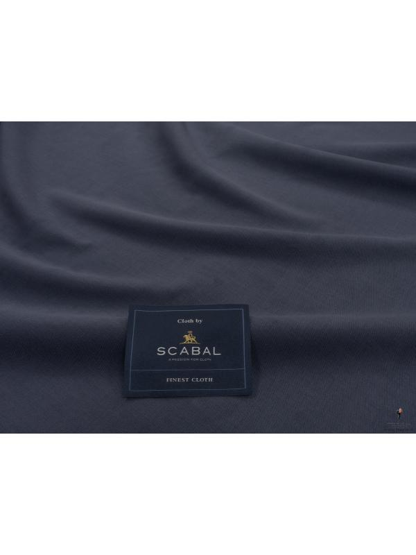 Mt. 1,20 Tessuto Activity Twill Ombre Blu Scabal