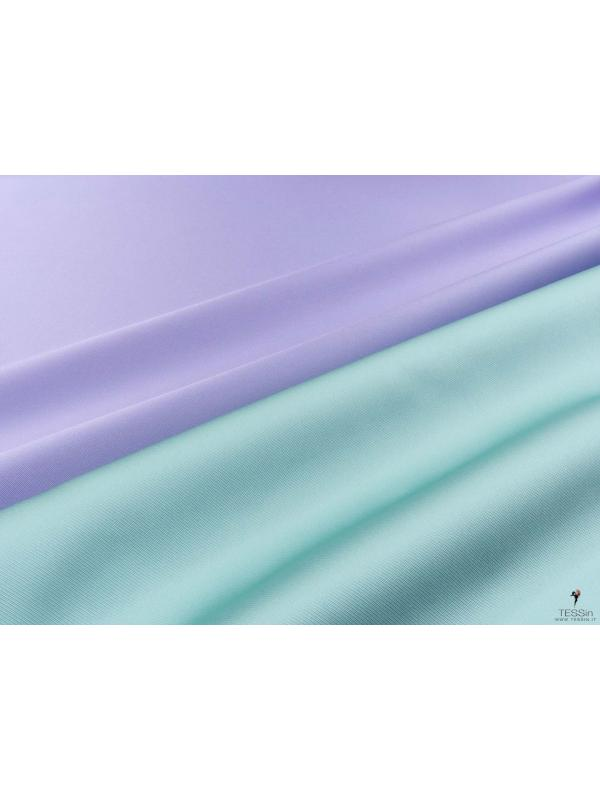 Double Face Twill Fabric Lavander Clean Water Blue