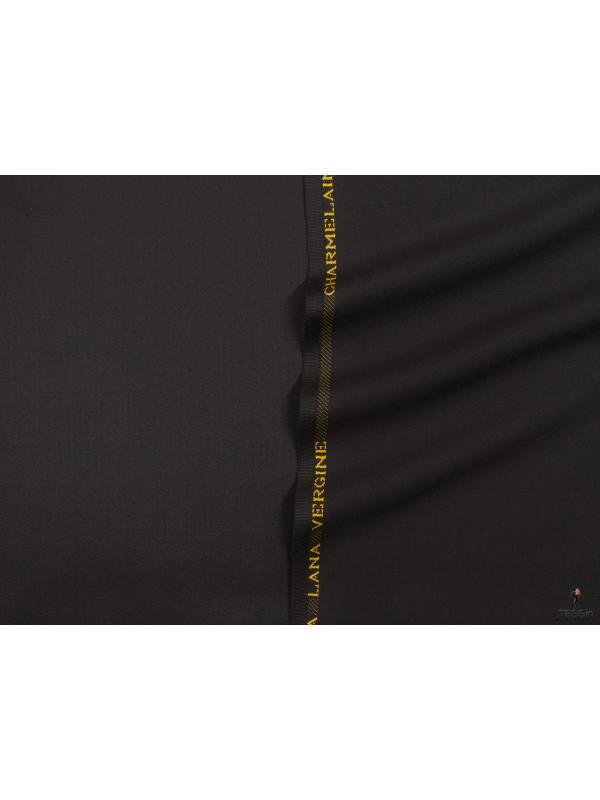 Charmelaine Wool Fabric Cocoa Made in Italy