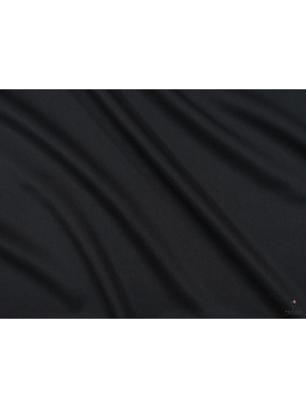 Charmelaine Wool Fabric Anthracite Made in Italy