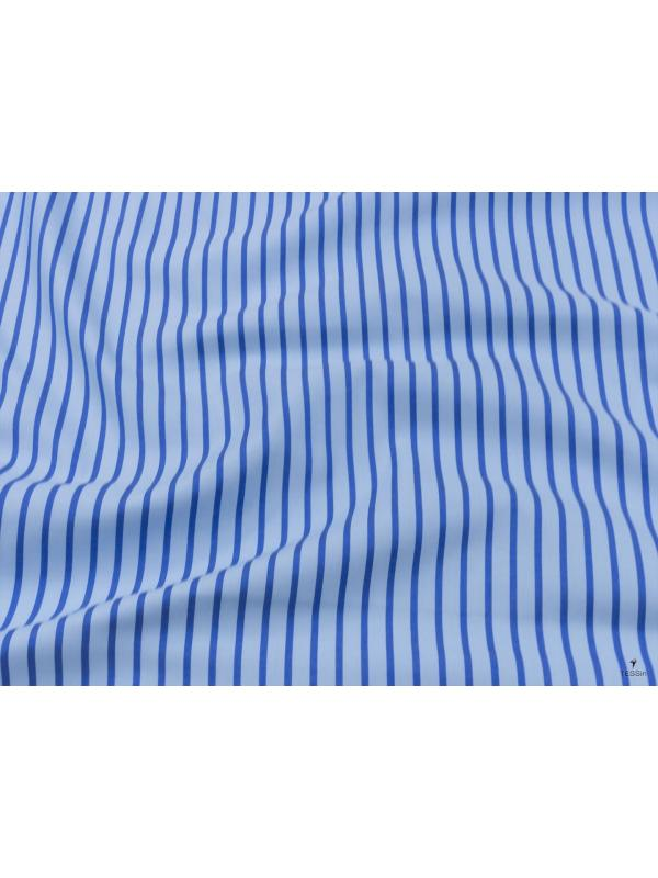Inner Pocket Cotton Twill Fabric Pale Blue Blue