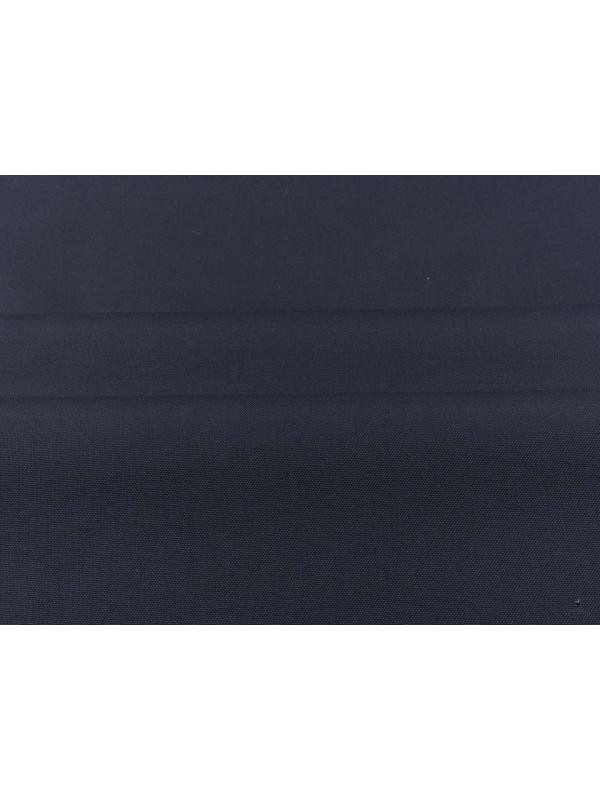 Mtr. 1.60 Pinpoint Fabric Dark Blue - Canclini 1925