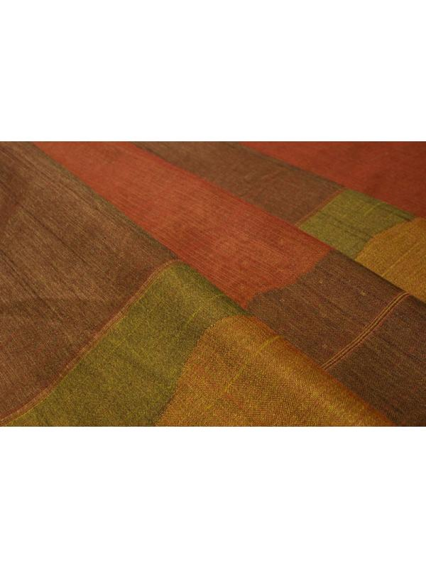 Curtain Silk Blend Double Face Shantung Fabric Patchwork - Ponson Made in Italy