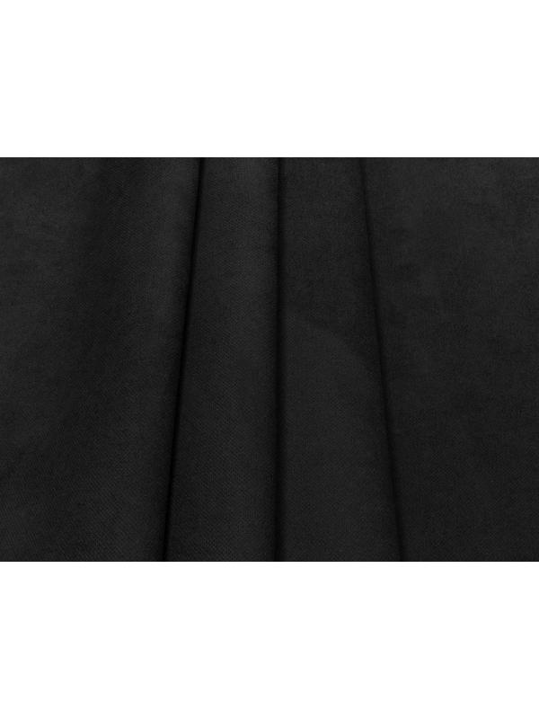 Bonded Suede Fabric Stain Resistant Black - Brera
