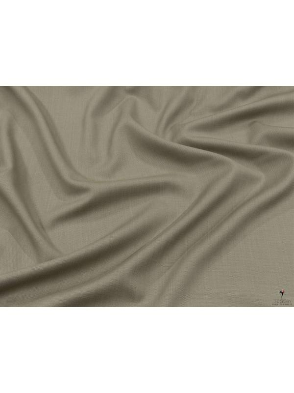 Wool Textured Fabric Micro Dot Sage Green Terracotta Made in Italy