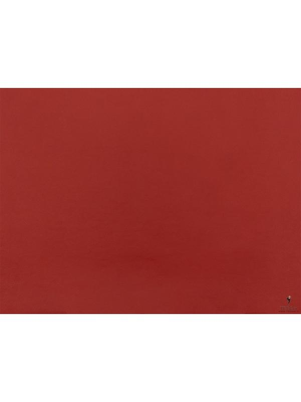 Fire Retardant Leather Fabric Red - Palermo