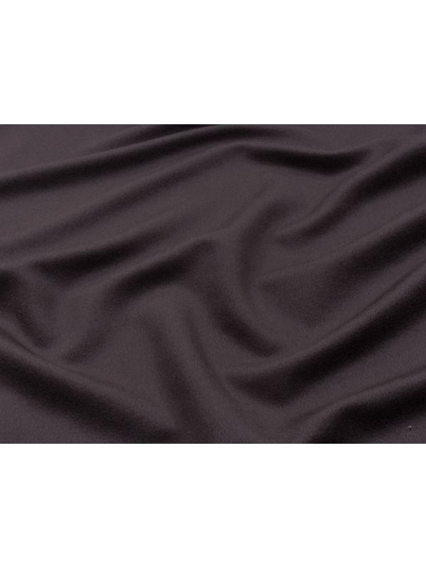 Mtr. 2.80 Velour Fabric Wool Cashmere Fabric Cocoa Brown