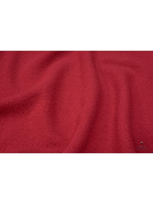Boiled Wool Fabric Tyrol Red