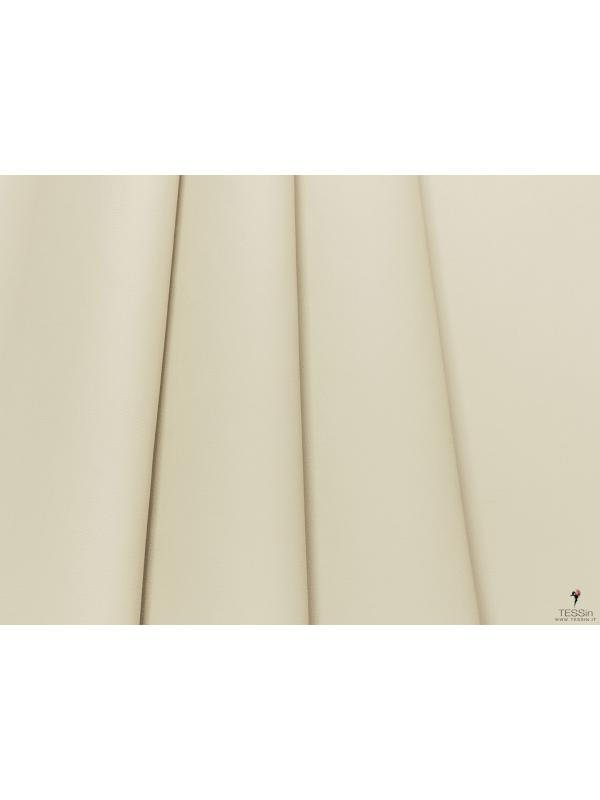 Leather Fabric Pale Yellow-Grey - Milano
