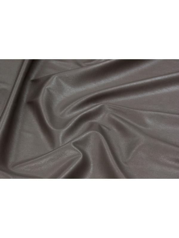 Stretch Leather Fabric Nappa Bottomed Flannel Dove Grey