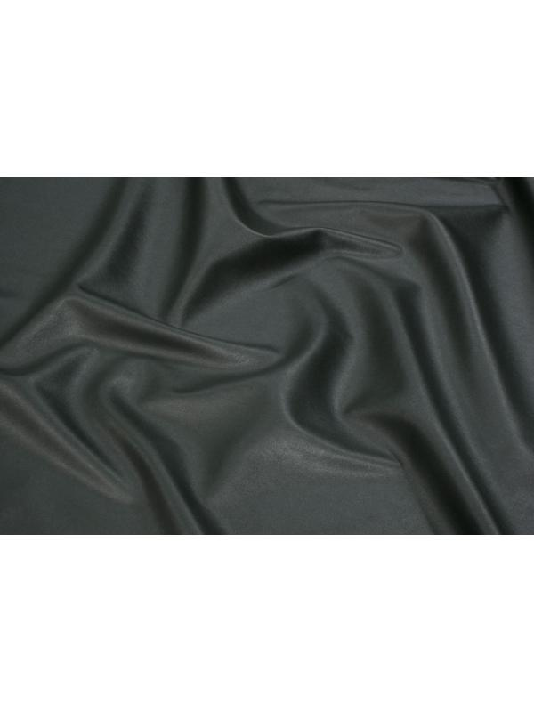 Stretch Leather Fabric Nappa Bottomed Flannel Military Green