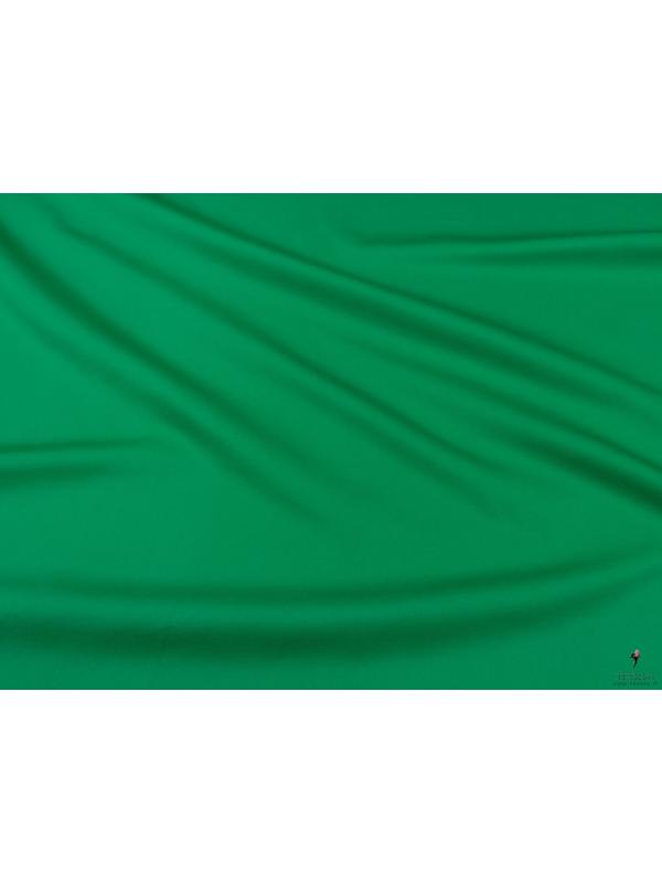 Stretch Cotton Sateen Green Bee