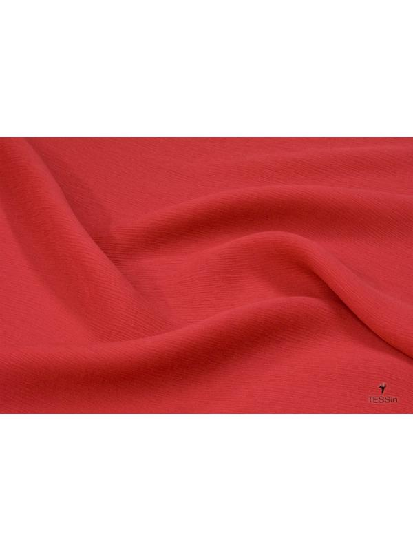 Silk Crépon Fabric AAA Red