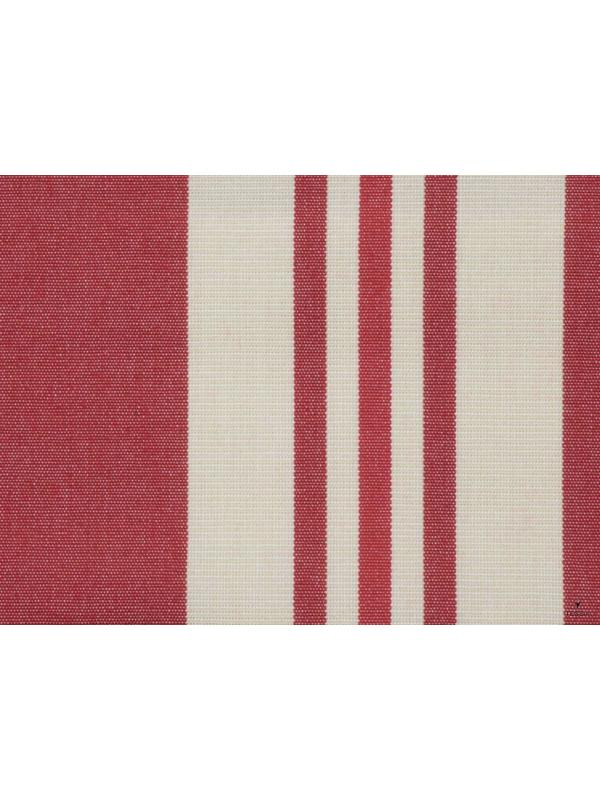 Outdoor Canvas Dralon Waterproof Fabric Stripe Red