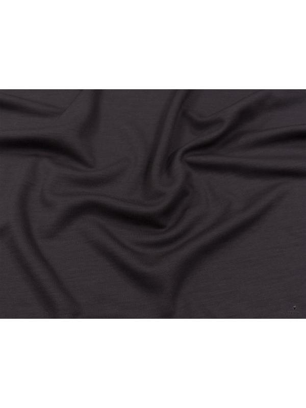 Jersey Pure Wool Fabric 500 Cocoa