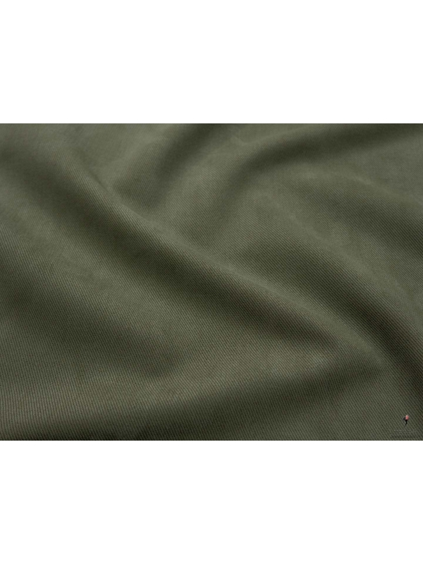 Tessuto Covert Cloth Verde Olivina Duca Visconti di Modrone