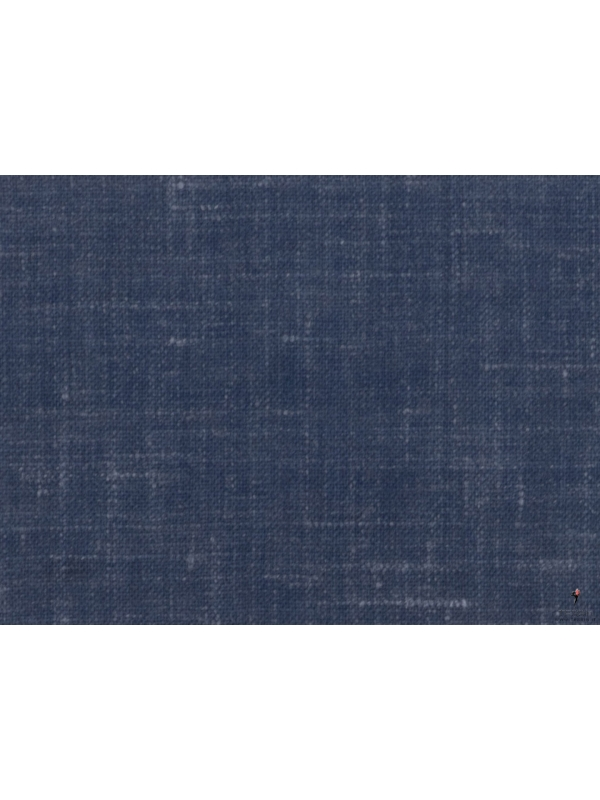 Tessuto Cross-ply Blu Denim Ermenegildo Zegna